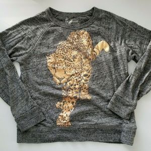 CrewCuts Collectible Gray Gold Foil Tiger Top 8
